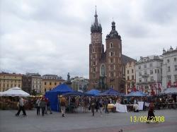 Beautiful Krakow...I miss this square...
