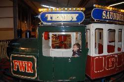 The amusement park at Folley Farm - a secret gem!