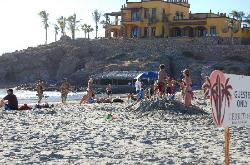 Nearby El Cerrito surfing beach