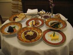 Room service dining