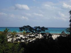 Vista desde mi suite 2° piso Royal Playa del Carmen