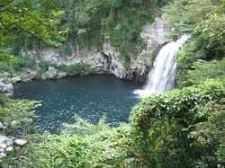 天地淵の滝