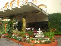 The beautiful Hotel Sai Inn.