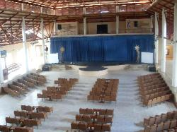 The theatre during the day! Be there around 9 for some great entertainment!