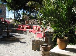 Central courtyard of the Inn