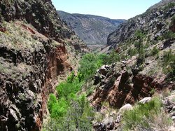 Frijoles Canyon