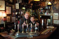 180 yr old beer pulls
