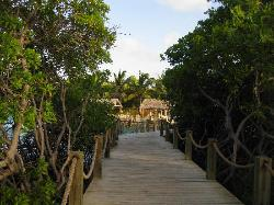 Boardwalk from Adult Side to Family Side