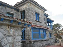 Gangster Al Capone's old beach house from the 30's. Now restored as Cuban beach front restaurant