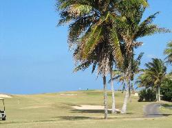 Golf face à l'hôtel