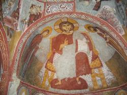 洞穴教堂內的耶穌壁畫 (23578976)