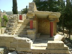 ‪Knossos Archaeological Site‬