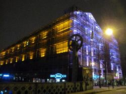 Hostel at night