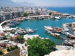 kyrenia harbour from the castle