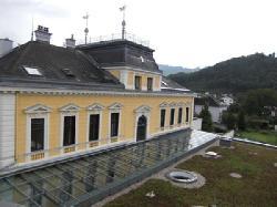 Rückseite des Hauptgebäudes
