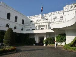 View of main hotel