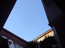 il cielo dal patio
