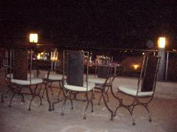 la terrazza in notturna