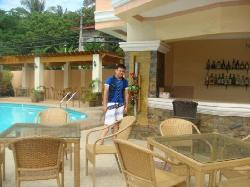 bar and pool area