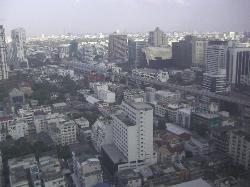 35階窓からの景色