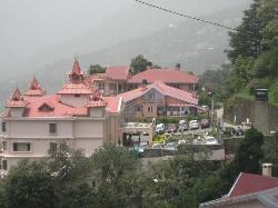 Radisson shimla-view of hotel