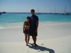 The beautiful beaches of the Similan Islands