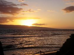 Sunsets were amazing