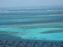Caribbean waters at Tobago Keys