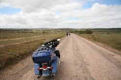 We rode in from Patterson to Shamwari, not the shortest route and through the predator area!