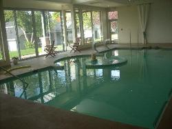 Indoor water spa, so relaxing