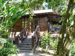 Banana Tree cottage at Fond Doux