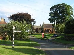 Gamblesby village centre
