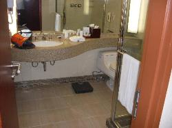 Bathroom at the Intercontinental COEX