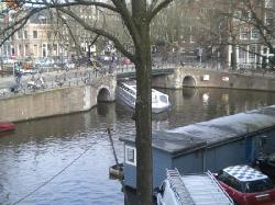 View from Canal room window