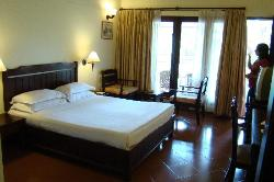 The comfortable room, next to the pool.