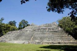 Reruntuhan Suku Maya Caracol