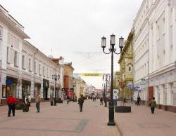 the historical street of N. Novgorod (24667971)