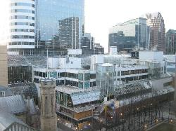 Trinity Square + Eaton Center(View from Suite)