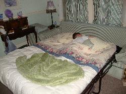 My son slept all night long