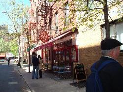 Cornelia Street in Greenwich Village