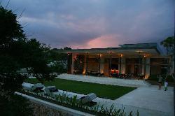 Sunset view of Warung Restaurant