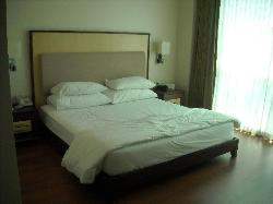 The bedroom - king size bed