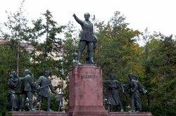 Statue of Lajos Kossuth