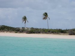 The sky is clearing up as we arive to the south shore of Anguilla (25238546)