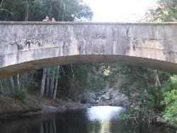 British built bridge over the Silver river (25276392)