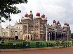 Maharajapalatset i Mysore (Amba Vilas)
