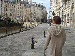 Place Dauphine is an ancient cobblestoned street on a wedge shaped parcel comprised of elegant h
