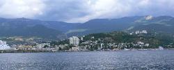 Yalta vista dal mare