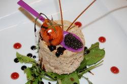 mousse d'esturgeon au caviar d'aquitaine