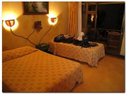2 Double beds and nice decor